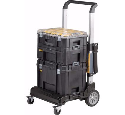 Opbergpakket Stanley FatMax Tstak - Trolley + Koffers + Organizer