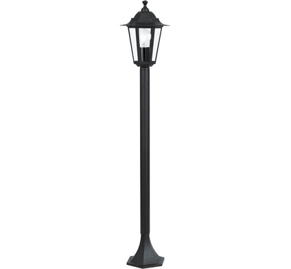Eglo Laterna 4 Staand 100 cm Zwart 1 Lichtpunt