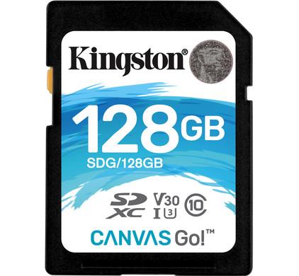 Kingston SDXC Canvas Go! 128 Go 90 MB/s