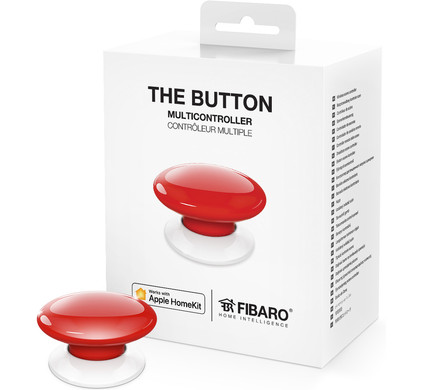Fibaro Button Rood (Apple HomeKit)