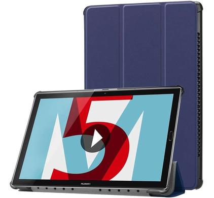 Just in Case Tri-Fold Huawei MediaPad M5 10/10 Pro Book Case Blauw