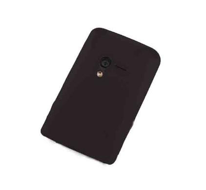 Brando Silicon Case Black Xperia X10 Mini + Screenprotector