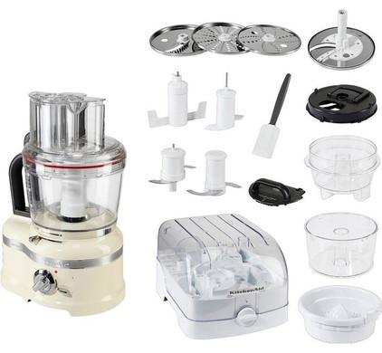 KitchenAid Artisan Robot cuiseur Crème Main Image