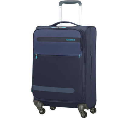 American Tourister Herolite Super Light Expandable Spinner 55 cm Midnight Blue