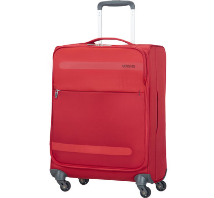 American Tourister Herolite Super Light Spinner 55cm Formula Red