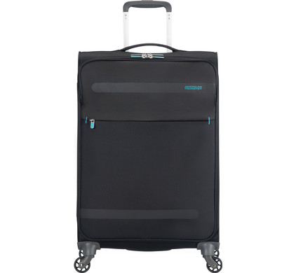 American Tourister Herolite Super Light Spinner 67cm Volcane Black