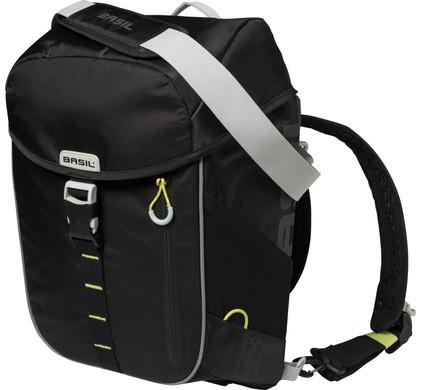 Basil Miles Daypack 14L Black Lime