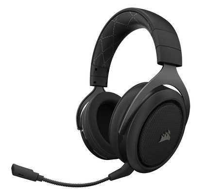 Corsair HS70 Wireless Surround Sound Gaming Headset Zwart