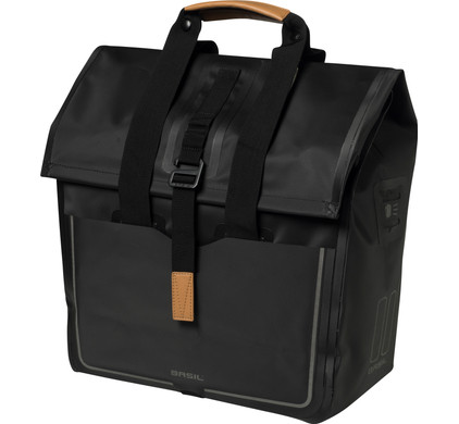 Basil Urban Dry Shopper 25L Matt black
