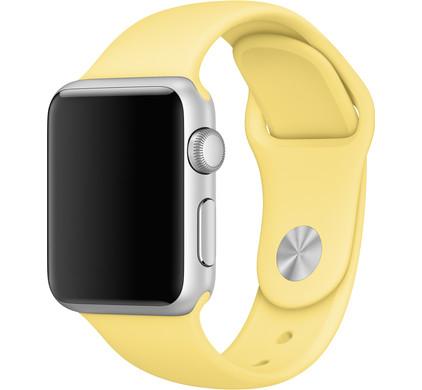 Apple Watch 42mm Siliconen Horlogeband Sport Pollen