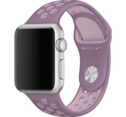 Apple Watch 42mm Polsband Nike Sport Violet