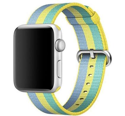 Apple Watch 42mm Nylon Woven Polsband Pollen