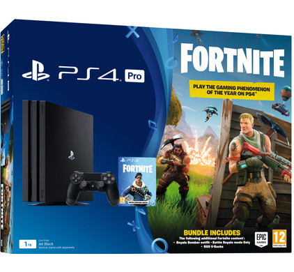 Sony PlayStation 4 Pro 1 TB + Fortnite bundel