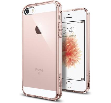 Spigen Ultra Hybrid Apple iPhone 5/5s/SE Roze