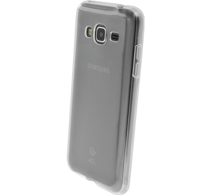 Mobiparts Essential TPU Case Samsung Galaxy J3 (2016) Transparant