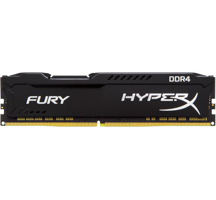 Kingston HyperX FURY Black 4GB 2400MHz DDR4 DIMM 1 x 4 GB