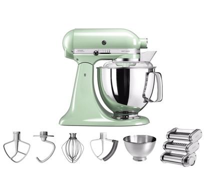 KitchenAid Artisan Mixer 5KSM175PS Pistache + Pastarollerset