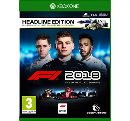 F1 2018 Headline Edition Xbox One