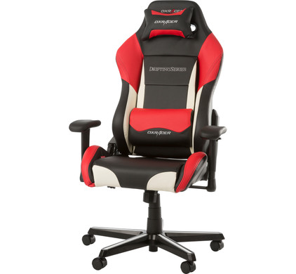 DX Racer DRIFTING Gaming Chair Zwart/Wit/Rood