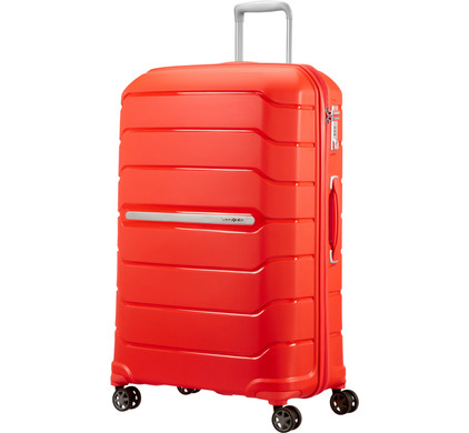 Samsonite Flux Expandable Spinner 75cm Tangerine Red