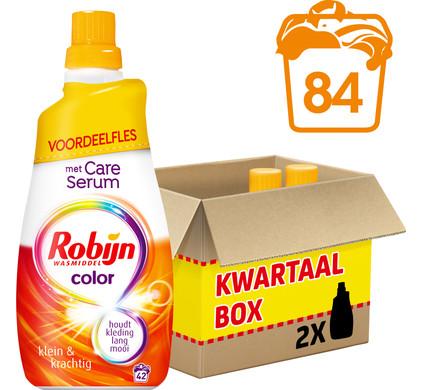 Robijn Klein & Krachtig Color - 1,47 lt - Wasmiddel - 2 stuk
