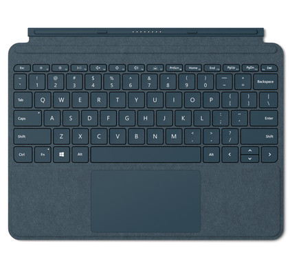 Microsoft Surface Go Type Cover AZERTY Blauw Main Image