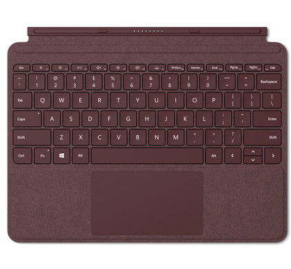 Microsoft Surface Go Type Cover AZERTY Rood