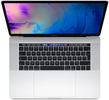 Apple MacBook Pro 15'' Touch Bar (2018) MR972FN/A Silver Azerty