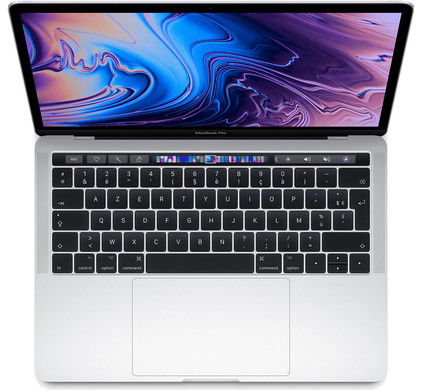 Apple MacBook Pro 13'' Touch Bar (2018) MR9U2FN/A Silver Azerty