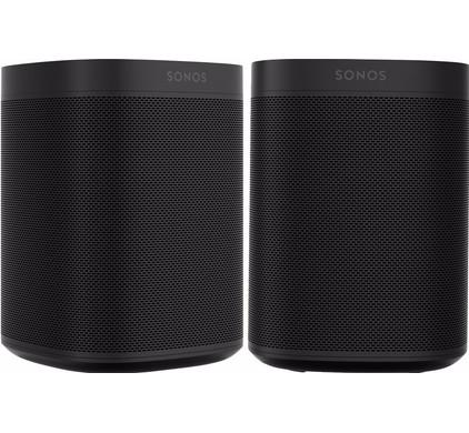 Sonos One Duo Pack Zwart Main Image