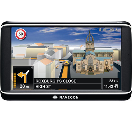 Navigon 70 Premium Live + Tas