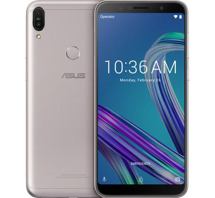 Asus Zenfone Max Pro Zilver Main Image