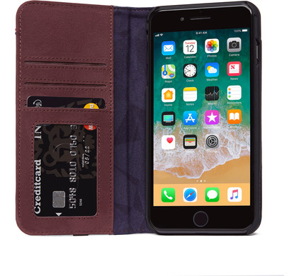 coque iphone 8 portefeuille cuir