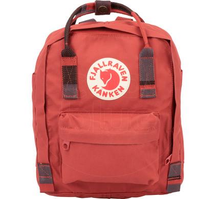 Fjällräven Kånken Mini Deep Red-Random Blocked - Kids Backpack ... e8f9332408a2e