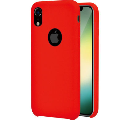 new concept 4c8b4 00ce5 Azuri Rubber Apple iPhone Xr Back Cover Red