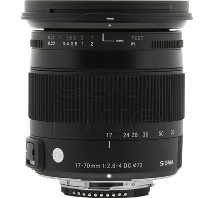 Sigma F 17-70mm f/2.8-4 DC Macro OS HSM Nikon Main Image