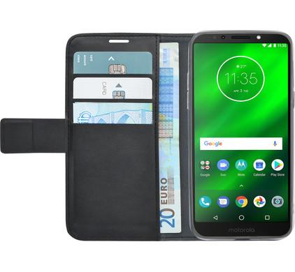 Azuri Wallet Magneet Motorola Moto G6 Play Book Case Zwart Main Image