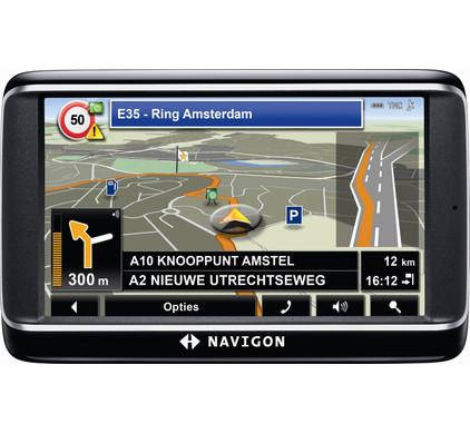 Navigon 40 Premium + Tas