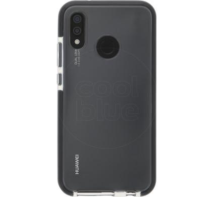 best service f8ef7 1b686 Azuri Flexible Bumper Huawei P20 Lite Back Cover Black