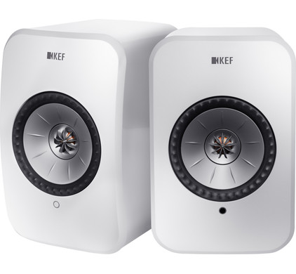 KEF LSX wireless stereo systeem Wit Main Image