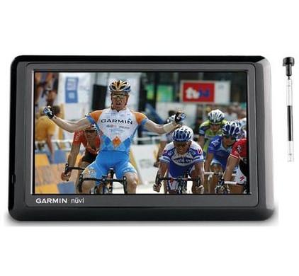 Garmin Nuvi 1490TV + Tas + Thuislader + Dashboard Donut