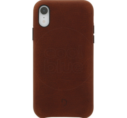 eb6c3c9d3d8 Decoded Leather iPhone Xr Back Cover Bruin - Coolblue - Voor 23.59u ...