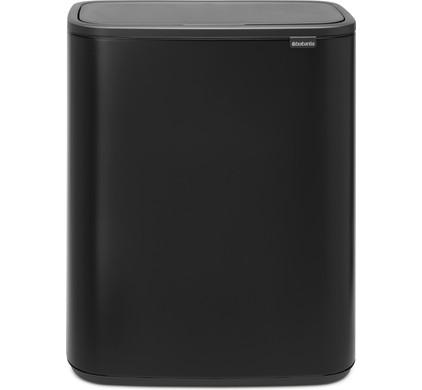 Touch Bin 40 Liter Aanbieding.Brabantia Bo Touch Bin 2 X 30 Liter Matt Black