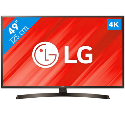 نتیجه تصویری برای TV LG 49UK6400