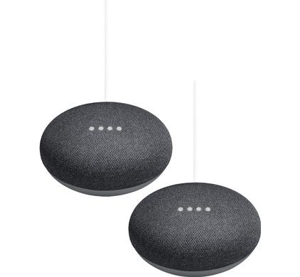 Google Home Mini Duo Pack Grijs Main Image