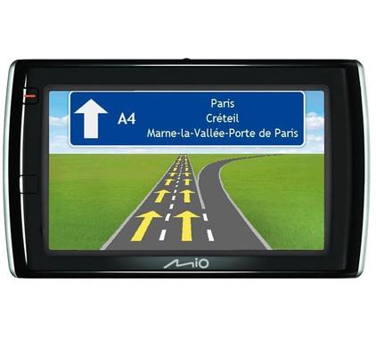 Mio Spirit V575 TV + Tas + Thuislader + Dashboard Donut