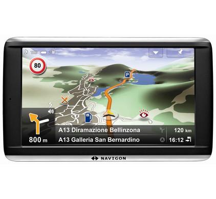 Navigon 72 Premium + Tas + Thuislader + Dashboard Donut
