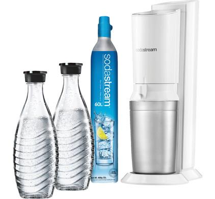 Sodastream Crystal Megapack White + 2 karaffen