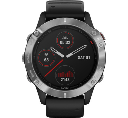 Garmin Fenix 6 - Zwart - 47 mm