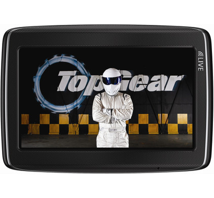 TomTom GO LIVE Top Gear + Tas + High Speed Multi Autolader